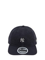 New Era Team Packable Cotton Canvas Baseball Hat Navy