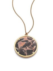 Givenchy Medallion Necklace Marble