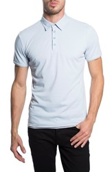7 Diamonds Men's 'Ultimate' Polo Powder Blue