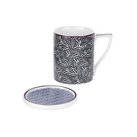 Ted Baker Mug And Coaster Set Malton Iv