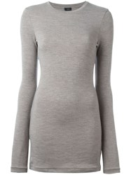 Joseph Crew Neck Sweater Nude And Neutrals
