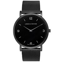 Larsson And Jennings Lugano 38Mm Watch Black