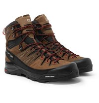 Salomon X Alp High Nubuck And Gore Tex Hiking Boots Brown