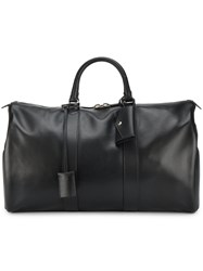 Calvin Klein 205W39nyc Hanging Id Tag Duffle Bag Leather Black