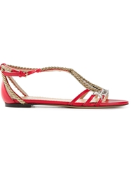 Charlotte Olympia 'Ahoy Sailor ' Pumps Red