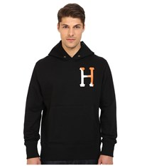 Huf Two Tone Classic H Pullover Hoodie Black Men's Sweatshirt
