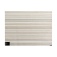 Chilewich Multi Stripe Rectangle Placemat Champagne