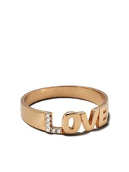 Kismet By Milka 14Kt Rose Gold Love Diamond Ring