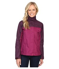 Marmot Precip Jacket Magenta Dark Purple Women's Jacket