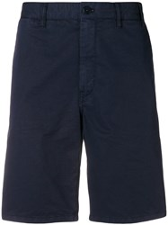 Norse Projects Fitted Classic Shorts Blue