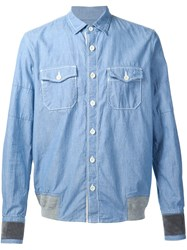 Sacai Chambray Shirt Blue