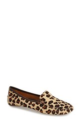 Women's Patricia Green 'Jillian' Loafer Leopard Haircalf