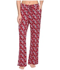 Vera Bradley Knit Pajama Pants Havana Hothouse Women's Pajama Red