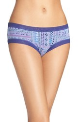 Honeydew Intimates Women's Riley Hipster Panty Deep Sea Tribal