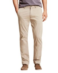 Dl1961 Casual Straight Leg Chino Pants Beige