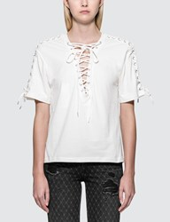 Mcq By Alexander Mcqueen Laced S S Top