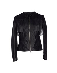 Kaos Jeans Coats And Jackets Jackets Women Black