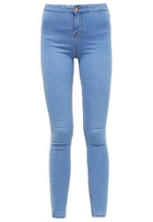 New Look Disco Slim Fit Jeans Pale Light Blue