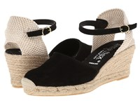 David Tate Europa Black Women's Wedge Shoes