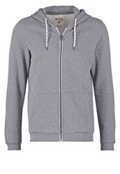Tom Tailor Denim Tracksuit Top Mid Grey Melange Mottled Grey