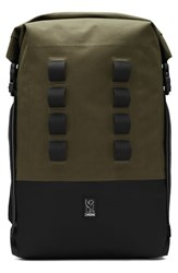 Chrome Urban Ex Rolltop Waterproof Backpack Brown