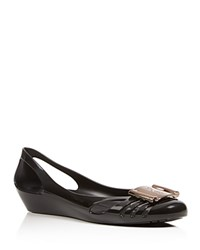 Salvatore Ferragamo Bermuda Jelly Wedge Flats