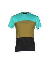 Jonathan Saunders T Shirts Turquoise