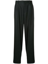 Kolor Baggy Tailored Trousers Blue