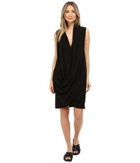 Limi Feu Draped Dress Black Women's Dress