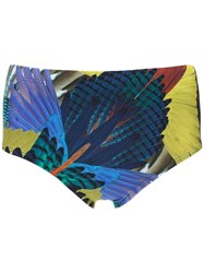 Lygia And Nanny Printed Ilhabela Swimming Trunks Blue