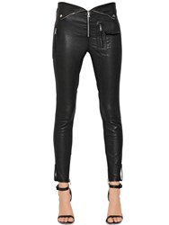 Rta Stretch Nappa Leather Biker Pants
