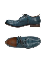 Moma Lace Up Shoes Deep Jade