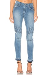 James Jeans Distressed Ankle Moto Throwback