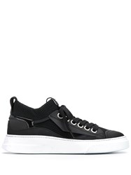 Bruno Bordese Low Top Lace Up Sneakers Black