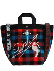 Vivienne Westwood Switch Runner Hold All Tote Bag Multicolor