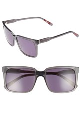 Ed Ellen Degeneres Women's 56Mm Gradient Square Sunglasses Dark Grey