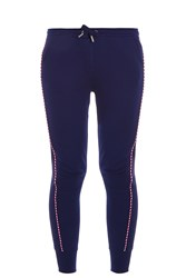 Zoe Karssen Piped Jogging Trousers Navy