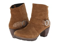 Wolky Urabi Bison Greased Suede Women's Boots Tan