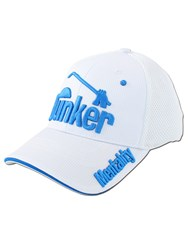 Bunker Mentality Hit It Hard Baseball Playa Cap White