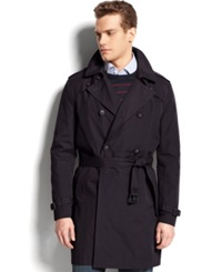 Tommy Hilfiger Double Breasted Belted Trench Coat