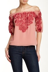 For Love And Lemons Sicily Top Red