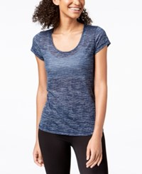 Ideology Space Dyed Mesh Back T Shirt Created For Macy's Tempo Yarn Dye