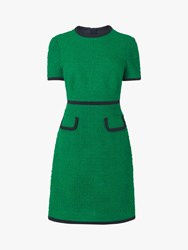 Lk Bennett L.K.Bennett Anita Tweed Shift Dress Fern Green