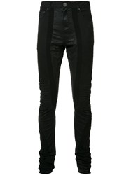 Private Stock Skinny Trousers Black