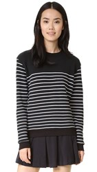 Splendid Adelaide Sweatshirt Black White