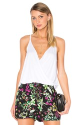 Chaser Draped Surplice Cami White