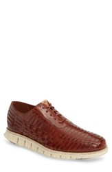 Cole Haan Men's Zerogrand Huarache Oxford Woodbury Leather