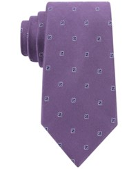 Club Room Fine Open Neat Tie Only At Macy's Lilac