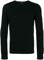 Saint Laurent Crew Neck Sweater Black
