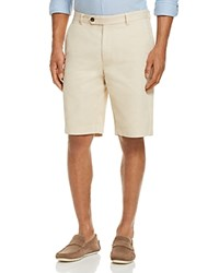 Brooks Brothers Garment Dyed Regular Fit Shorts Beige